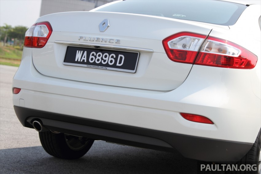 DRIVEN: Renault Fluence 2.0 X-Tronic CKD tested Image #268150