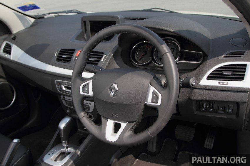 DRIVEN: Renault Fluence 2.0 X-Tronic CKD tested Image #268170