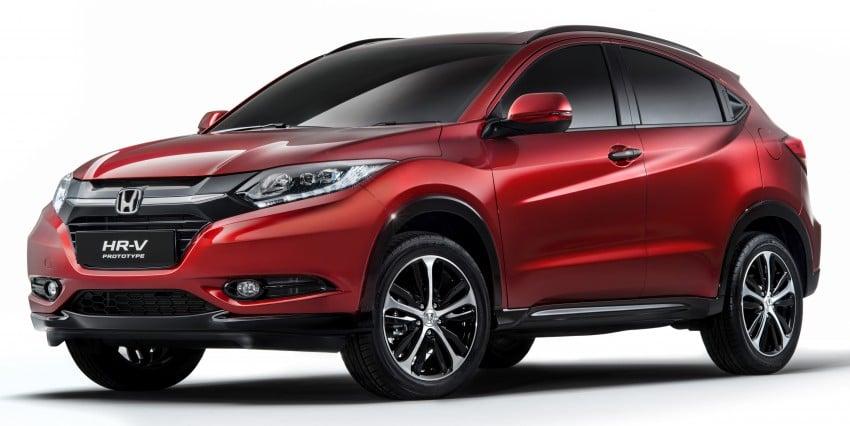 Honda HR-V – the Euro-market Vezel breaks cover Image #270547