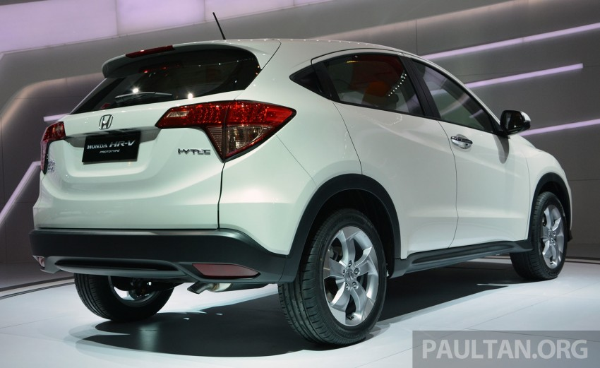 IIMS 2014: Honda HR-V makes ASEAN debut, 1.5 and 1.8 CVT spec revealed, from Rp 240 juta or RM65k Image #272975