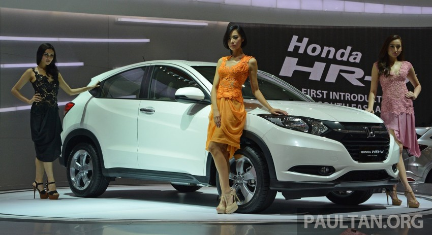 IIMS 2014: Honda HR-V makes ASEAN debut, 1.5 and 1.8 CVT spec revealed, from Rp 240 juta or RM65k Image #272988