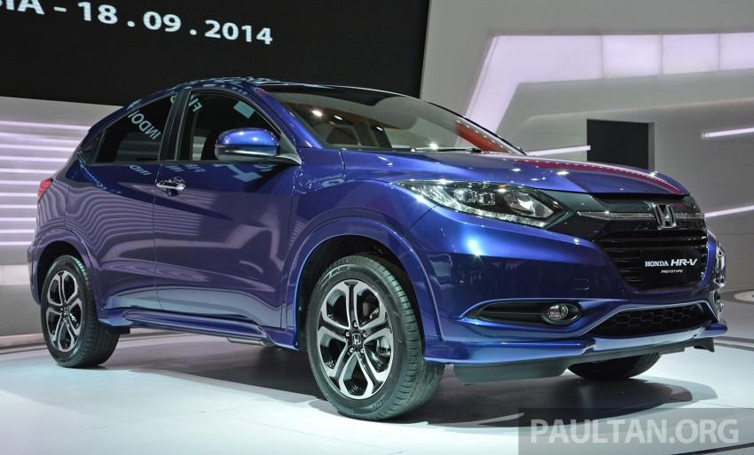 IIMS 2014: Honda HR-V makes ASEAN debut, 1.5 and 1.8 CVT spec revealed, from Rp 240 juta or RM65k Image #272991