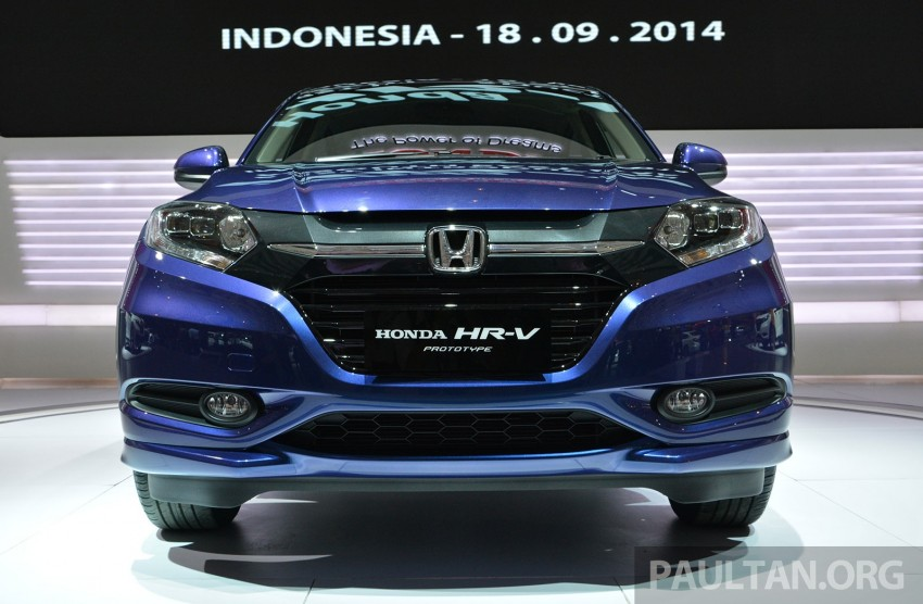 IIMS 2014: Honda HR-V makes ASEAN debut, 1.5 and 1.8 CVT spec revealed, from Rp 240 juta or RM65k Image #272992