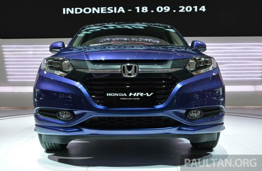 IIMS 2014: Honda HR-V makes ASEAN debut, 1.5 and 1.8 CVT spec revealed, from Rp 240 juta or RM65k Image #272992