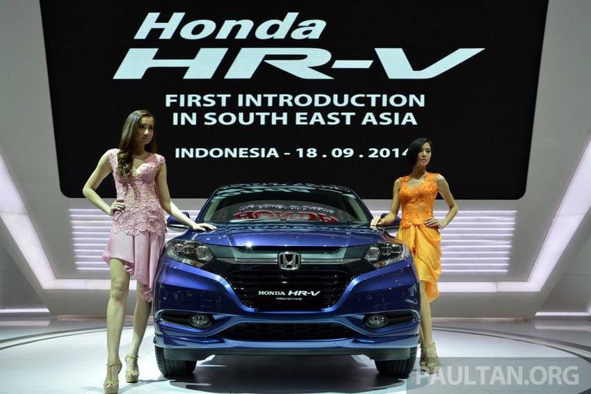 IIMS 2014: Honda HR-V makes ASEAN debut, 1.5 and 1.8 CVT spec revealed, from Rp 240 juta or RM65k Image #272994