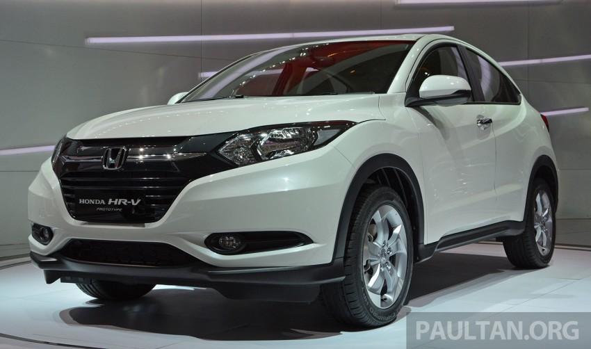 IIMS 2014: Honda HR-V makes ASEAN debut, 1.5 and 1.8 CVT spec revealed, from Rp 240 juta or RM65k Image #272985
