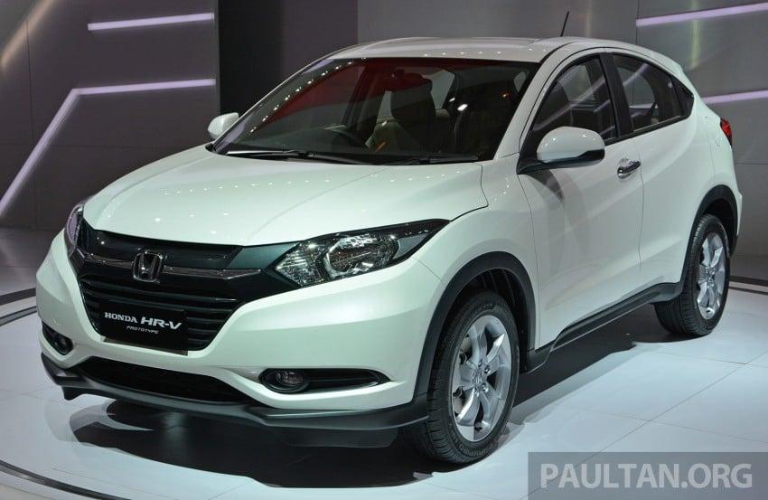 IIMS 2014: Honda HR-V makes ASEAN debut, 1.5 and 1.8 CVT spec revealed, from Rp 240 juta or RM65k Image #272986