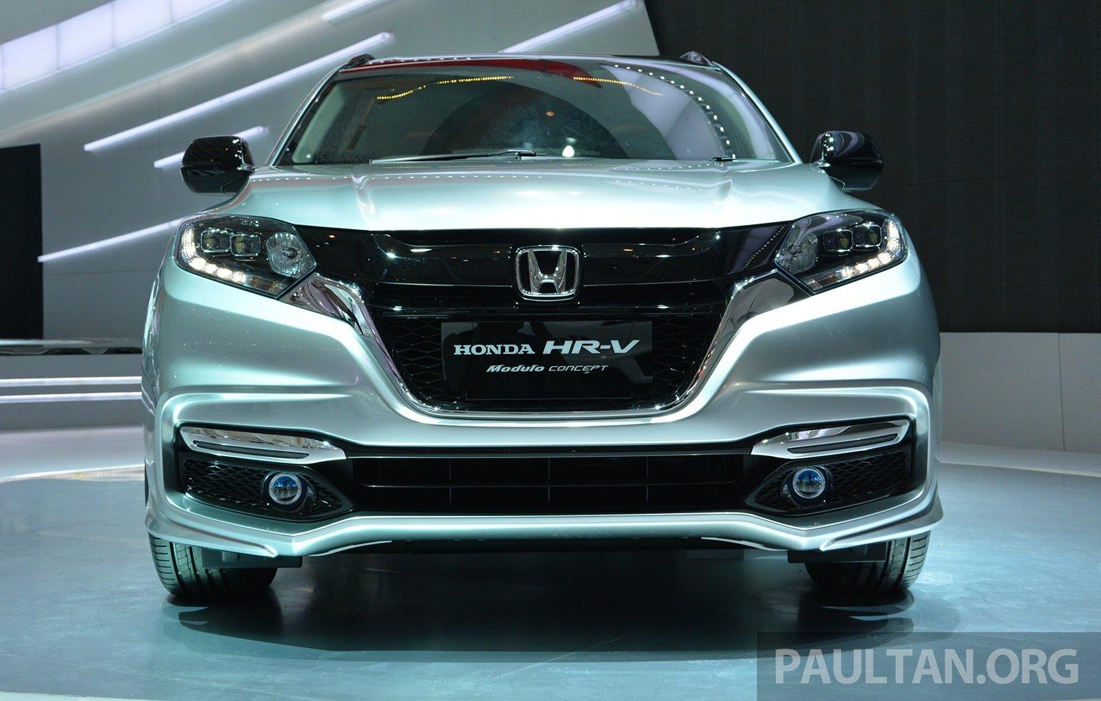 2016 Honda HR-V 1.5 and 1.8 CVT