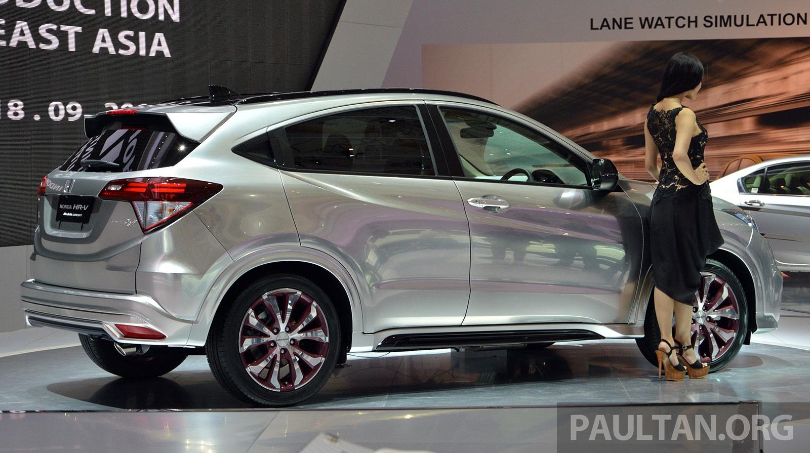 Honda Hr V Modulo >> IIMS 2014: Honda HR-V Mugen and Modulo live gallery Image 273143