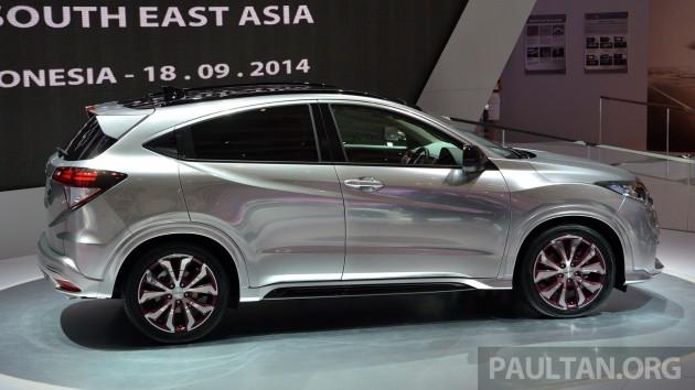 Honda Hr V Modulo >> Berita terkini: [New post] IIMS 2014: Honda HR-V Mugen and Modulo live gallery