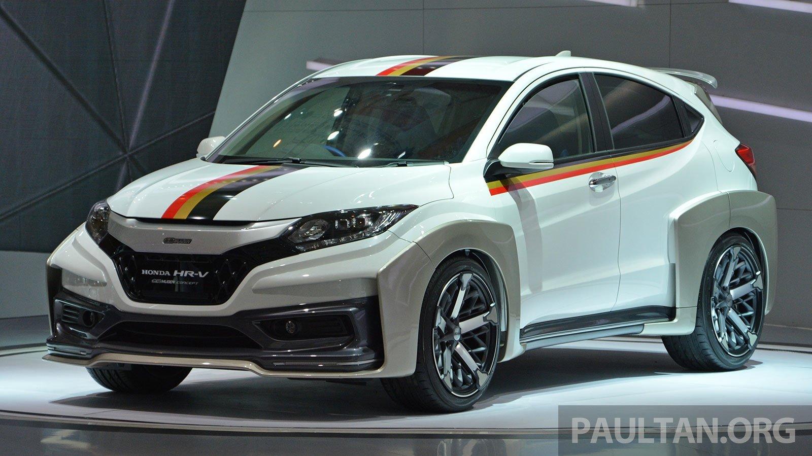 IIMS 2014 Honda HR V Mugen and Modulo live gallery
