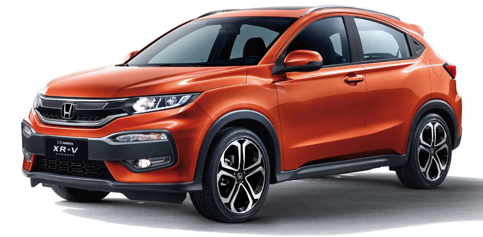 Honda XR-V - China's HR-V/Vezel gets its own looks Image ...