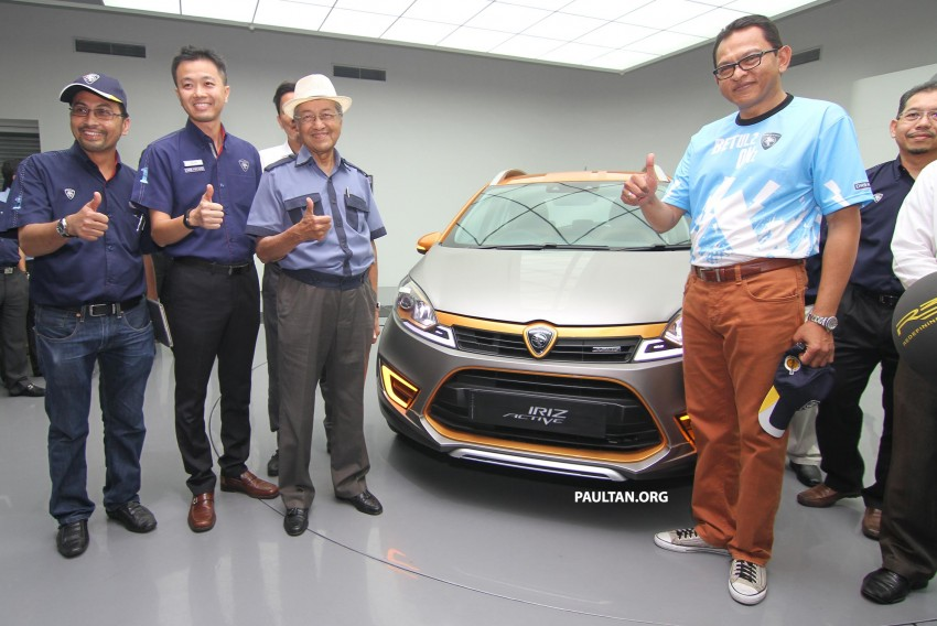 Proton Iriz Active concept unveiled with crossover looks, high-tech additions – production possible Image #275915