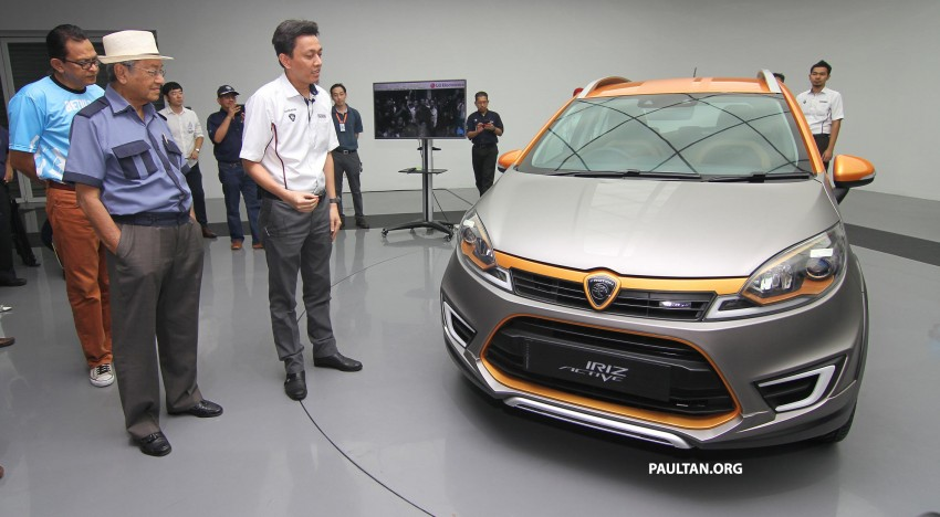 Proton Iriz Active concept unveiled with crossover looks, high-tech additions – production possible Image #275921