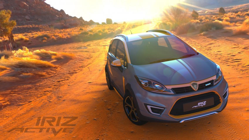 Proton Iriz Active concept unveiled with crossover looks, high-tech additions – production possible Image #275603