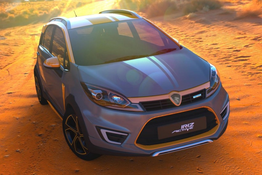 Proton Iriz Active concept unveiled with crossover looks, high-tech additions – production possible Image #275723