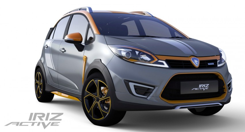 Proton Iriz Active concept unveiled with crossover looks, high-tech additions – production possible Image #275605