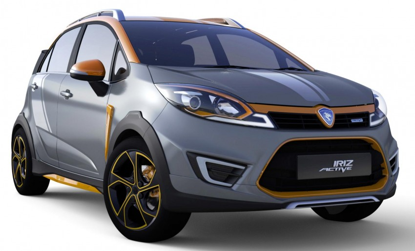 Proton Iriz Active concept unveiled with crossover looks, high-tech additions – production possible Image #275721