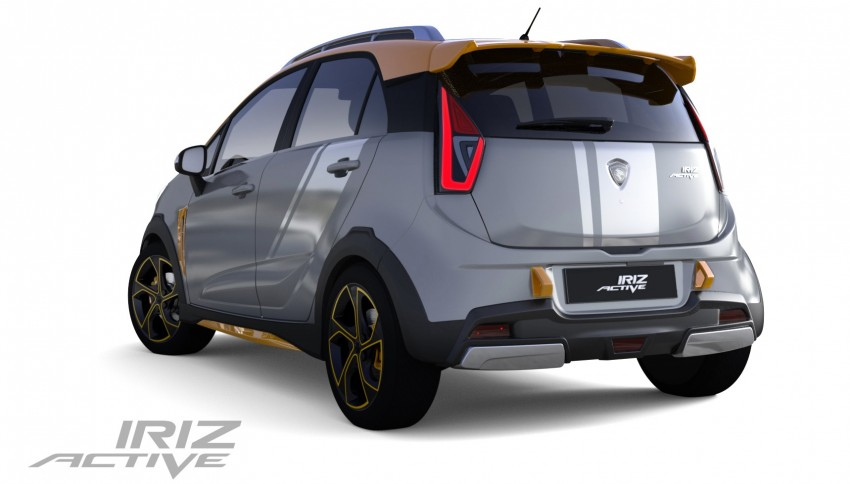 Proton Iriz Active concept unveiled with crossover looks, high-tech additions – production possible Image #275604