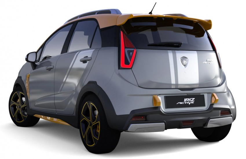 Proton Iriz Active concept unveiled with crossover looks, high-tech additions – production possible Image #275722