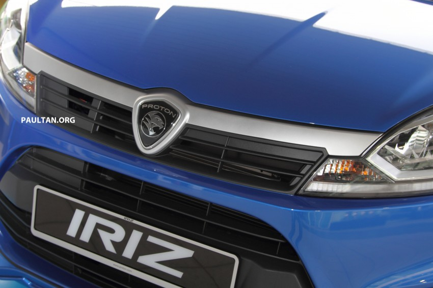 Proton Iriz launched – 1.3 and 1.6 VVT, from RM42k Image #275260