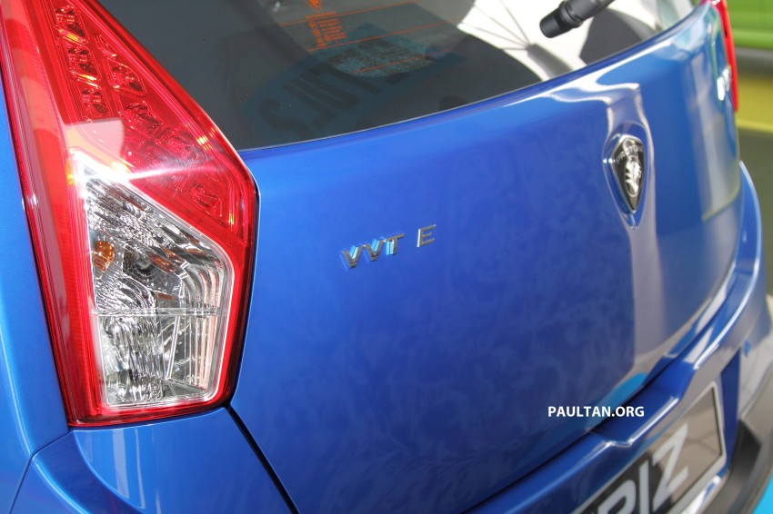 Proton Iriz launched – 1.3 and 1.6 VVT, from RM42k Image #275263