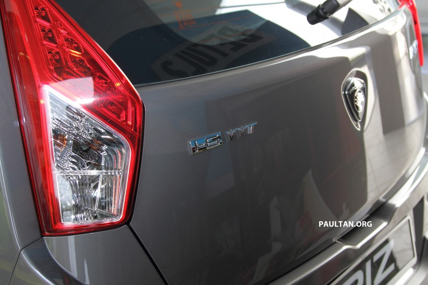 Proton Iriz launched – 1.3 and 1.6 VVT, from RM42k Image #275284