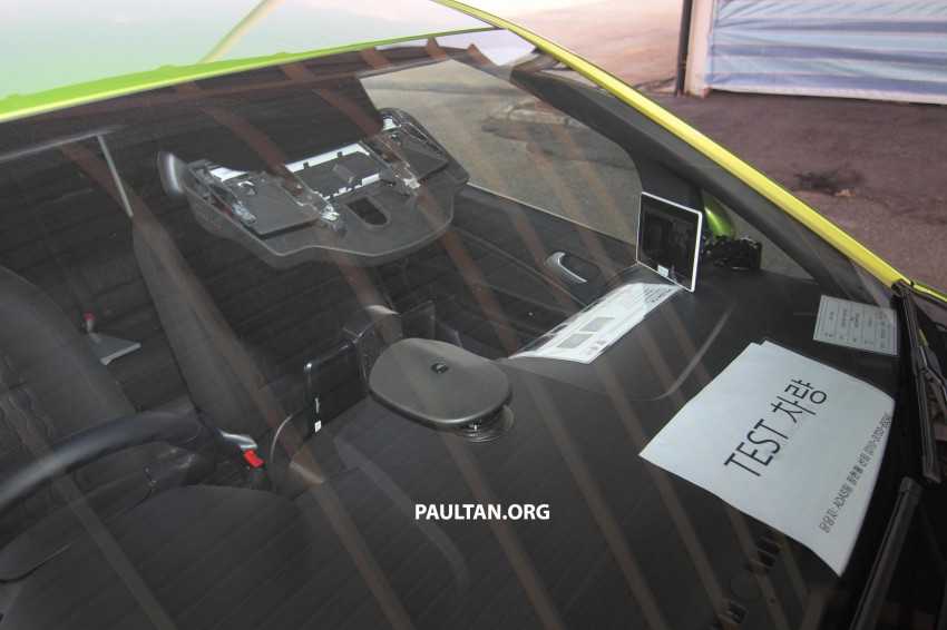 Proton Iriz prototype fitted with LG ADAS camera Image #275940