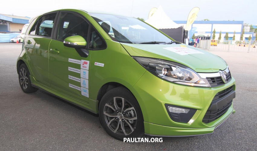 Proton Iriz prototype fitted with LG ADAS camera Image #275938