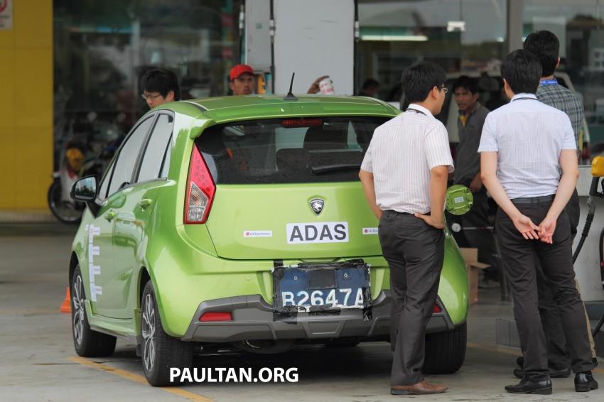 SPYSHOTS: Proton Iriz prototype with ADAS active safety stereo camera testing on Malaysian roads Image #276366