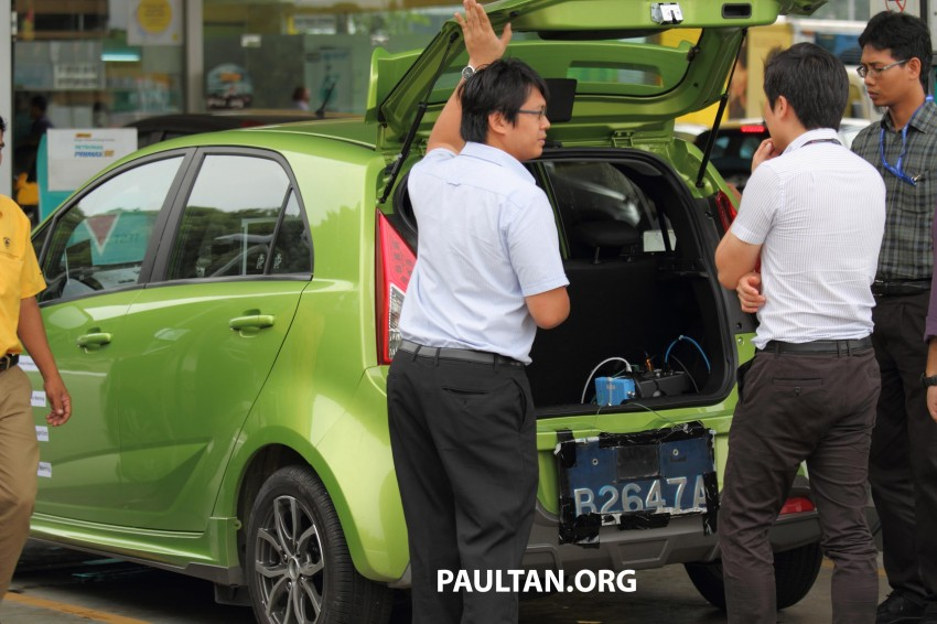 SPYSHOTS: Proton Iriz prototype with ADAS active safety stereo camera testing on Malaysian roads Image #276364
