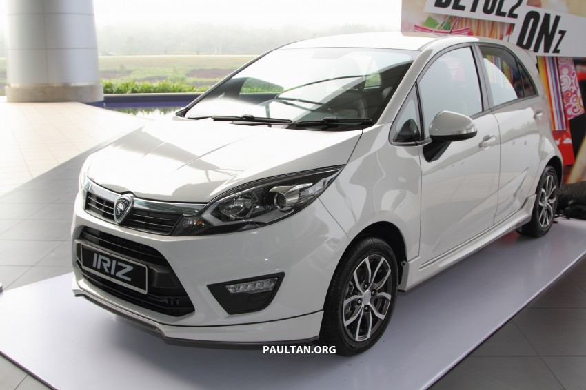 Proton Iriz launched – 1.3 and 1.6 VVT, from RM42k Image #275290