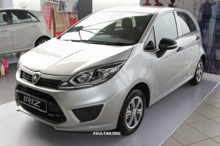 Proton Iriz launched – 1.3 and 1.6 VVT, from RM42k Image #275291