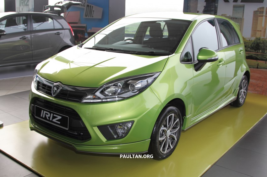 Proton Iriz launched – 1.3 and 1.6 VVT, from RM42k Image #275292