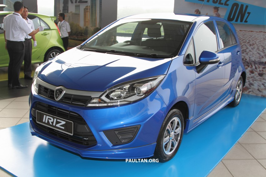 Proton Iriz launched – 1.3 and 1.6 VVT, from RM42k Image #275293