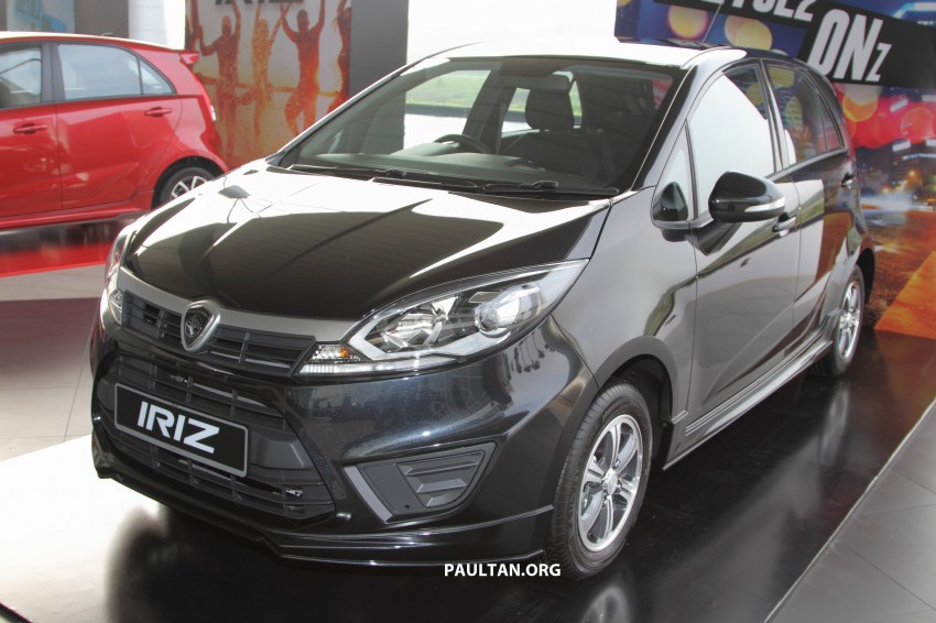 Proton Iriz launched – 1.3 and 1.6 VVT, from RM42k Image #275294