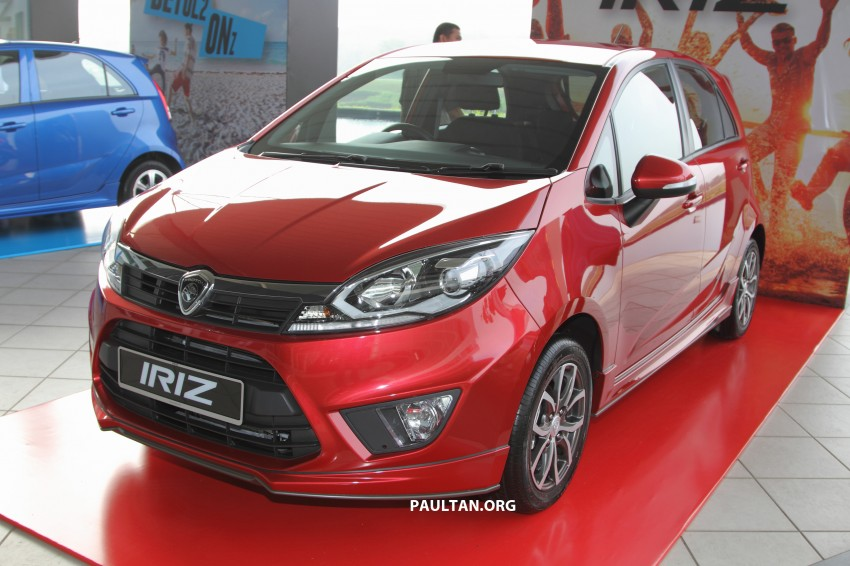 Proton Iriz launched – 1.3 and 1.6 VVT, from RM42k Image #275295