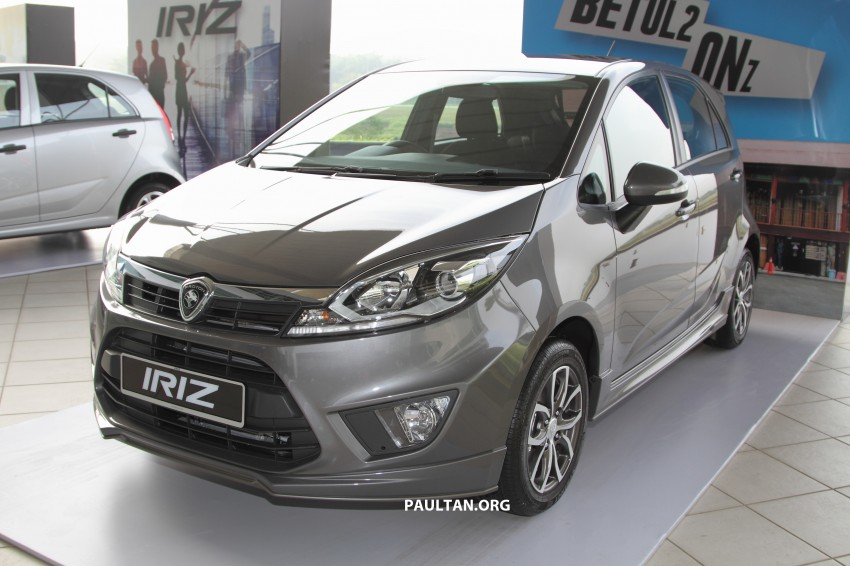Proton Iriz launched – 1.3 and 1.6 VVT, from RM42k Image #275296