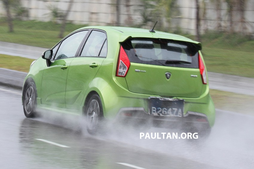 DRIVEN: Proton Iriz 1.6 CVT – first driving impressions Image #275389