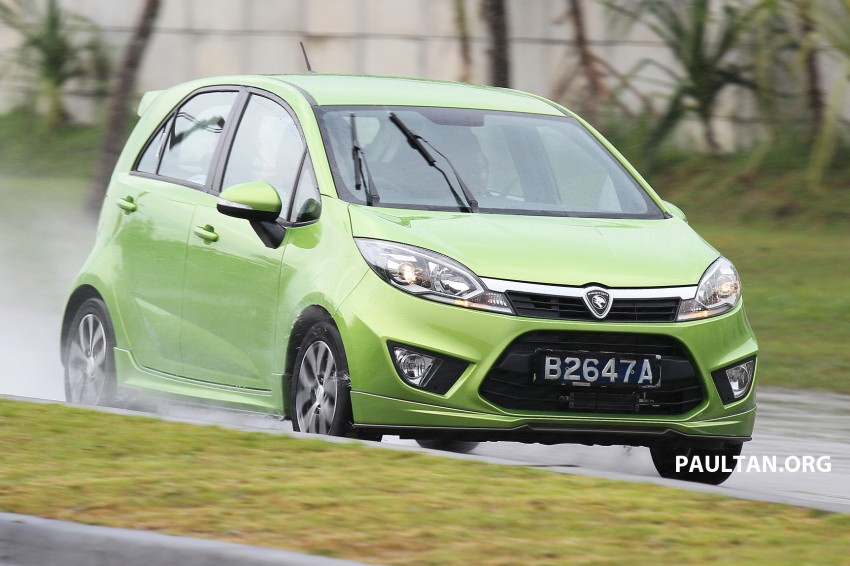 DRIVEN: Proton Iriz 1.6 CVT – first driving impressions Image #275390