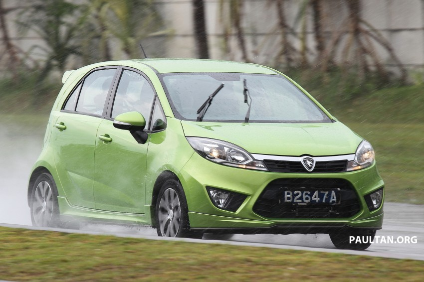 DRIVEN: Proton Iriz 1.6 CVT – first driving impressions Image #275395