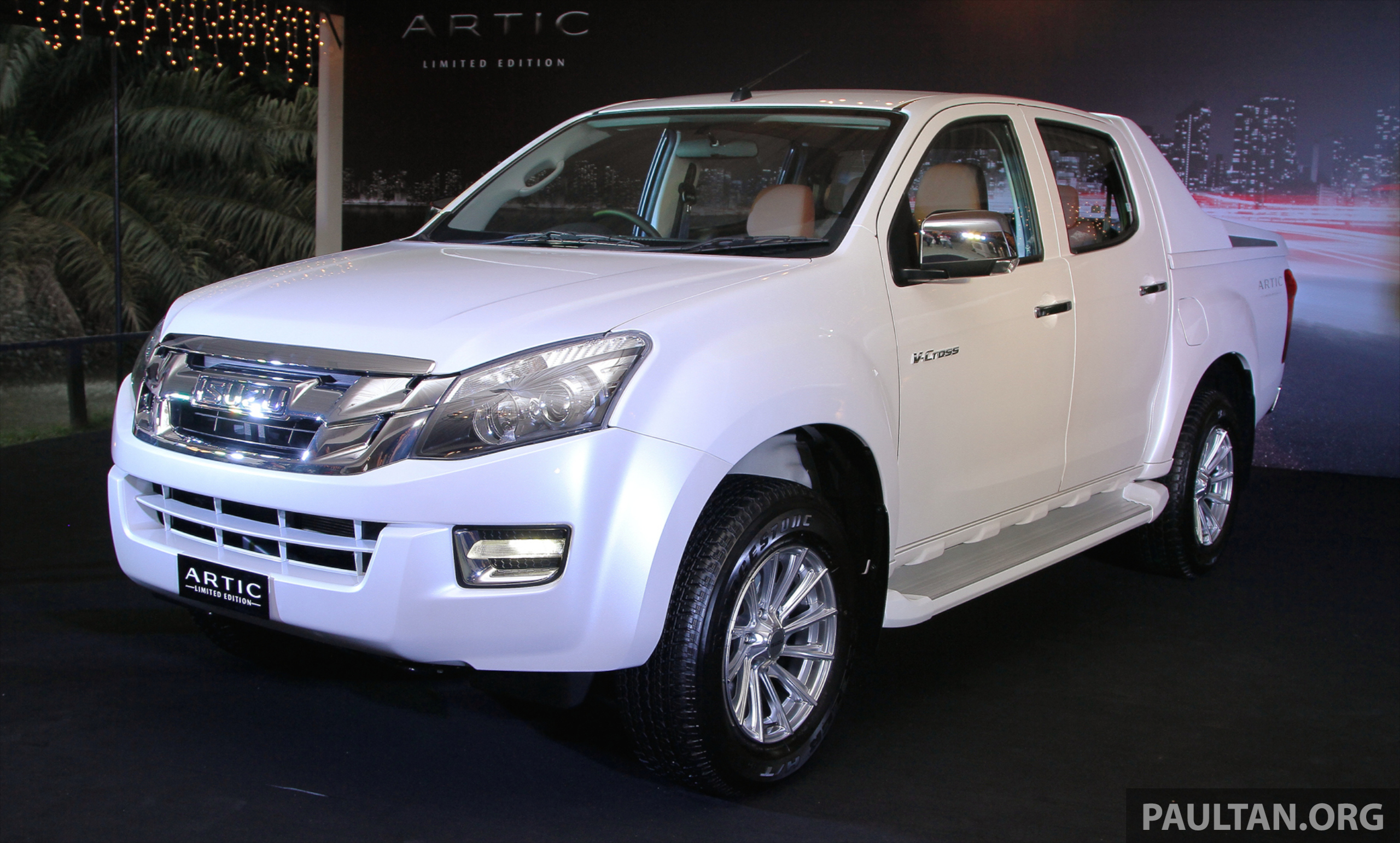 Back to Story: Isuzu D-Max Artic – limited edition run of 510 units