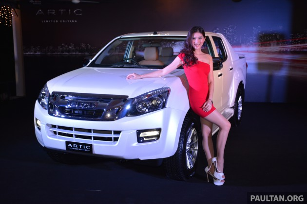 Isuzu D Max Artic limited edition run of 510 units from RM103 698