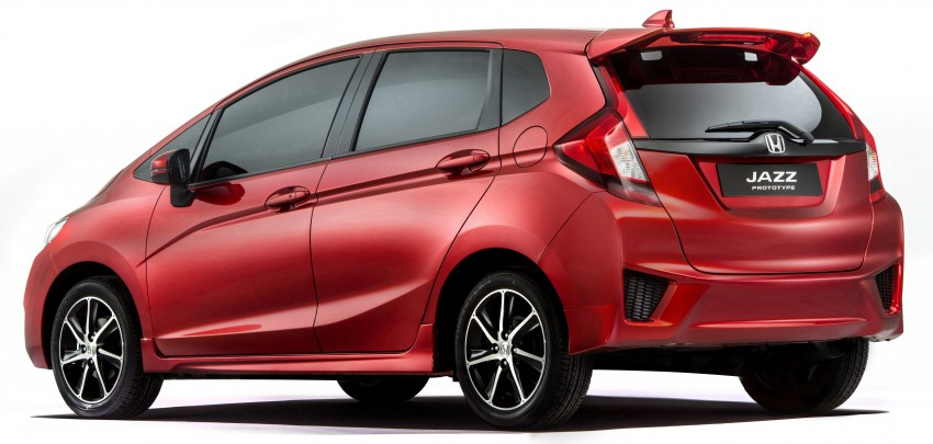 Honda Jazz 'prototype' closely previews Euro-spec car Image #272311