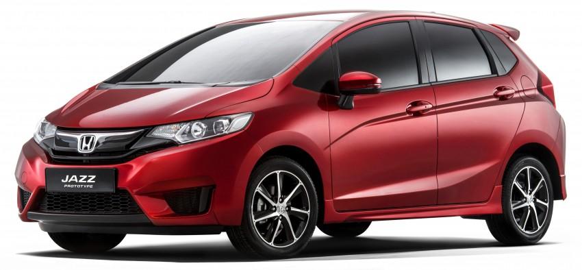 Honda Jazz 'prototype' closely previews Euro-spec car Image #272310