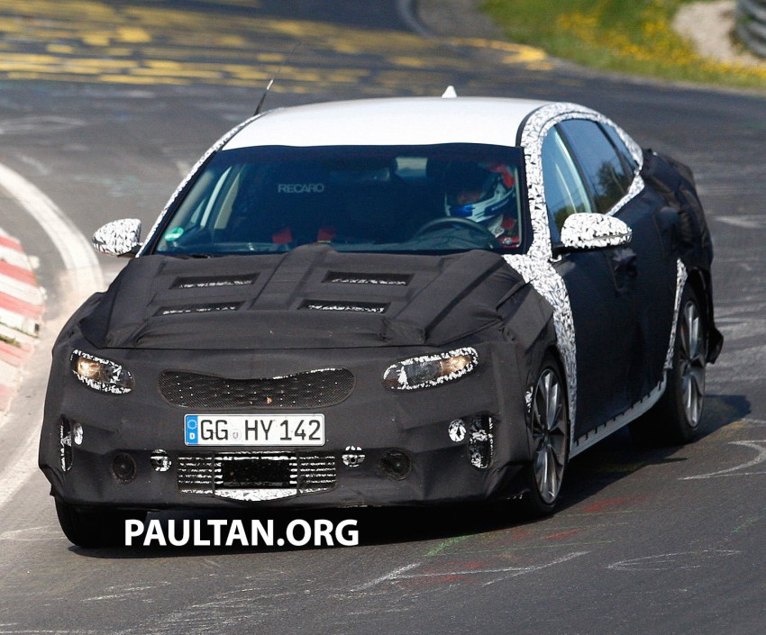 SPYSHOTS: Next-gen Kia Optima testing on track Image #268086