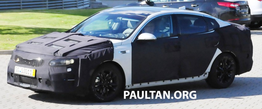 SPYSHOTS: Next-gen Kia Optima testing on track Image #268091