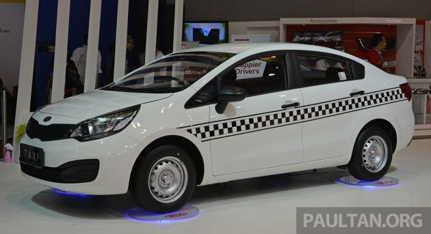 Kia Rio Sedan Taxi IIMS- 1