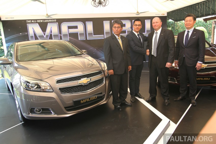 Chevrolet Malibu launched in Malaysia – 2.4L, RM155k Image #268274