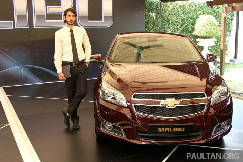 Chevrolet Malibu launched in Malaysia – 2.4L, RM155k Image #268272